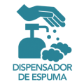 dispensador de espuma